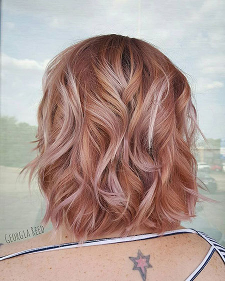 Gold Hair Rose Color