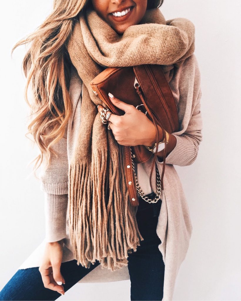 #fall #outfits / All Beige - Denim