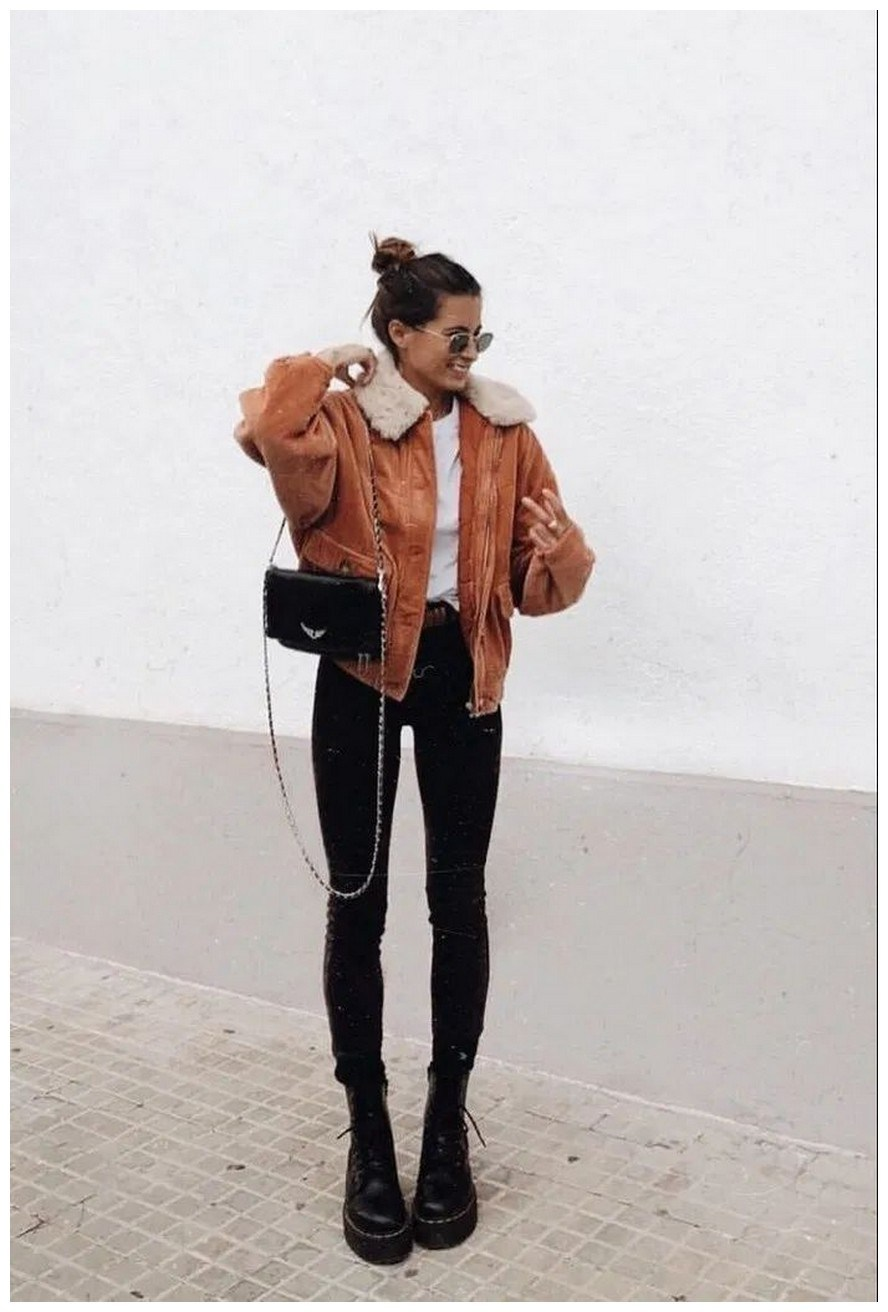 60+ comfy winter brunch outfits for girls 30
