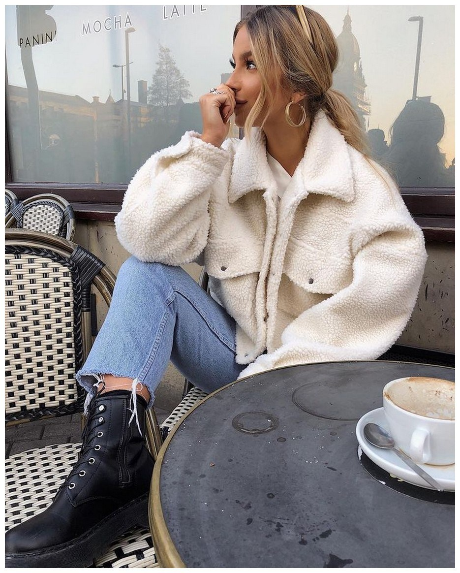60+ comfy winter brunch outfits for girls 25