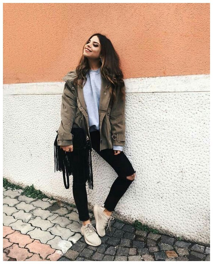 60+ comfy winter brunch outfits for girls 37