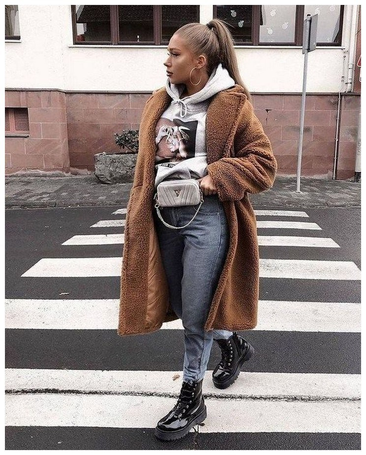 60+ comfy winter brunch outfits for girls 5