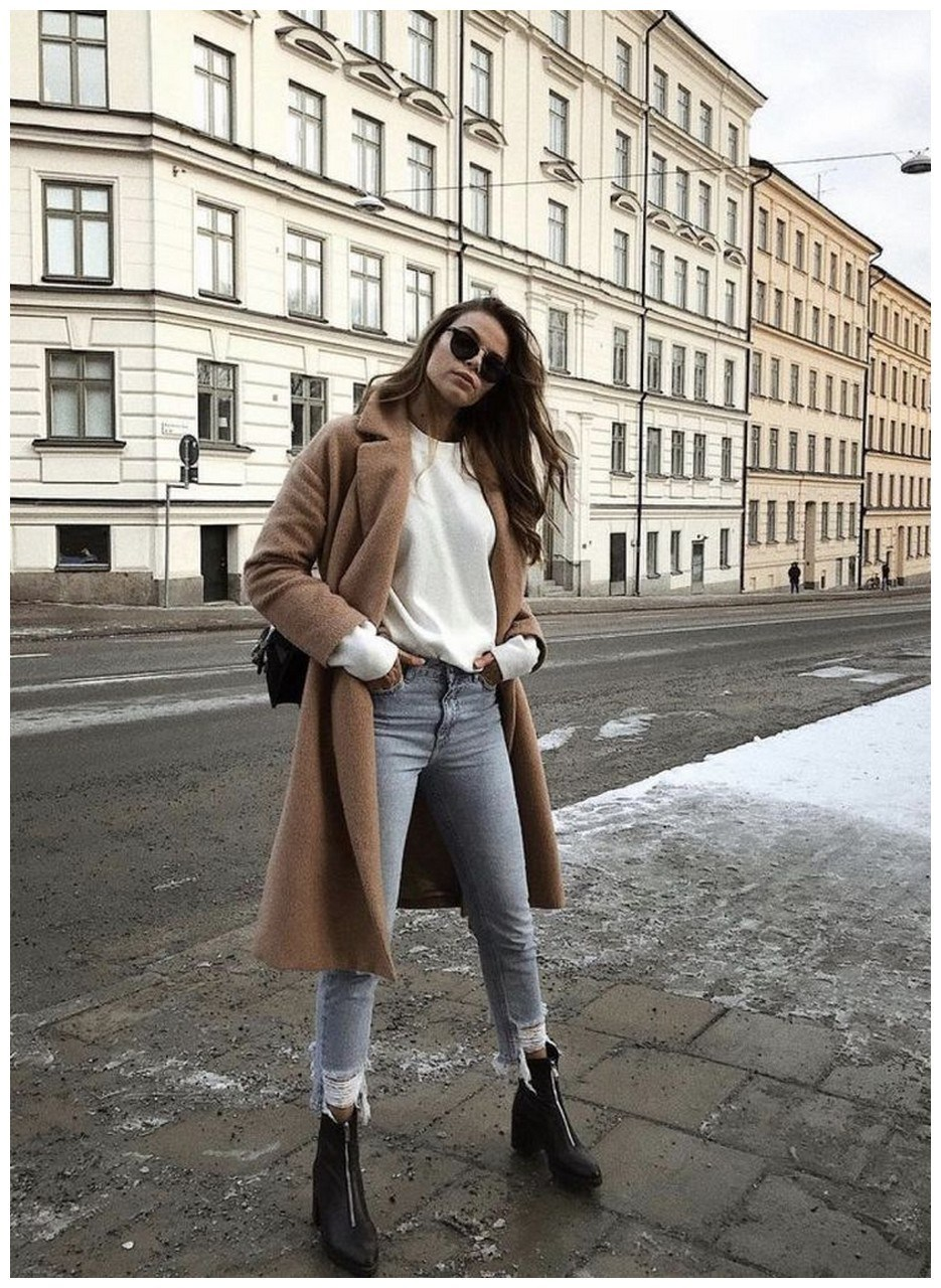 60+ comfy winter brunch outfits for girls 17