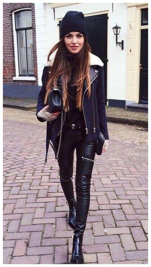 34+ rocker chic winter outfits you will love fashionplace info 23