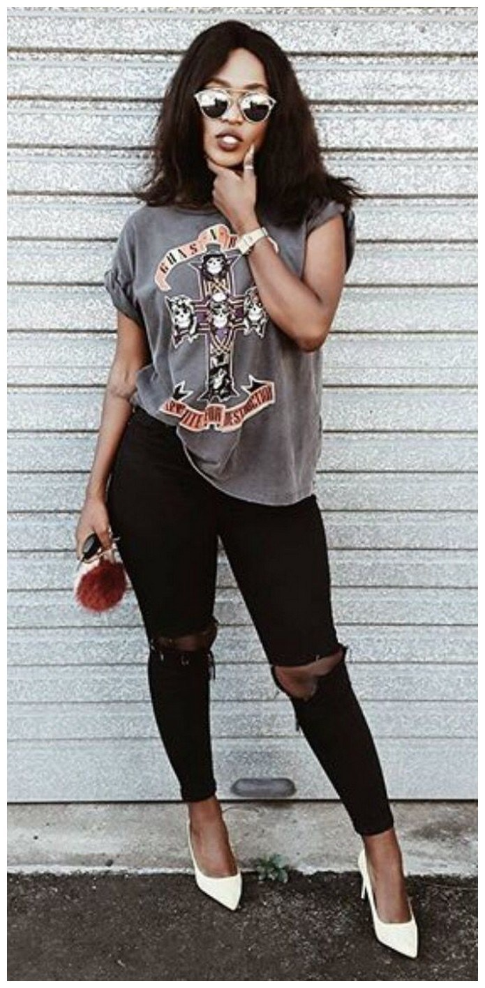 34+ rocker chic winter outfits you will love fashionplace info 12