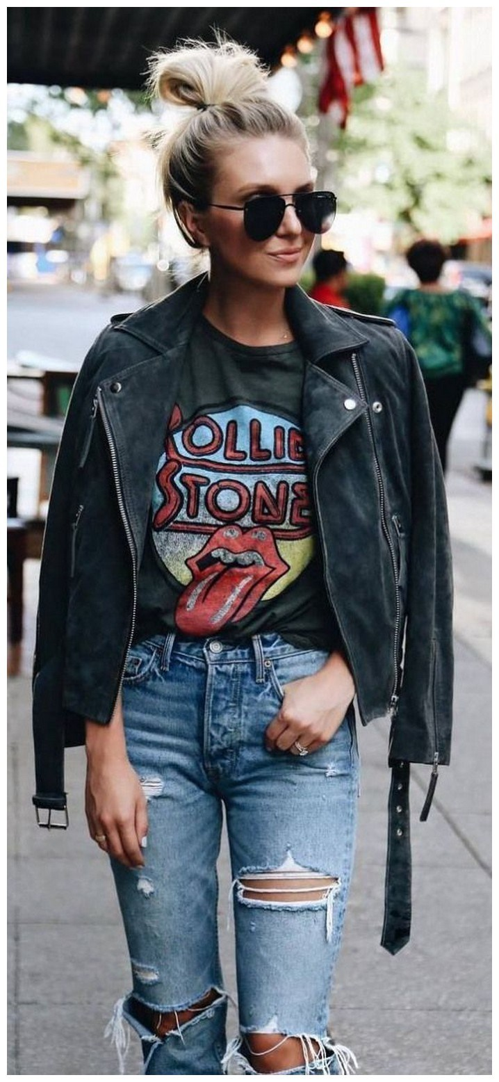 34+ rocker chic winter outfits you will love fashionplace info 35