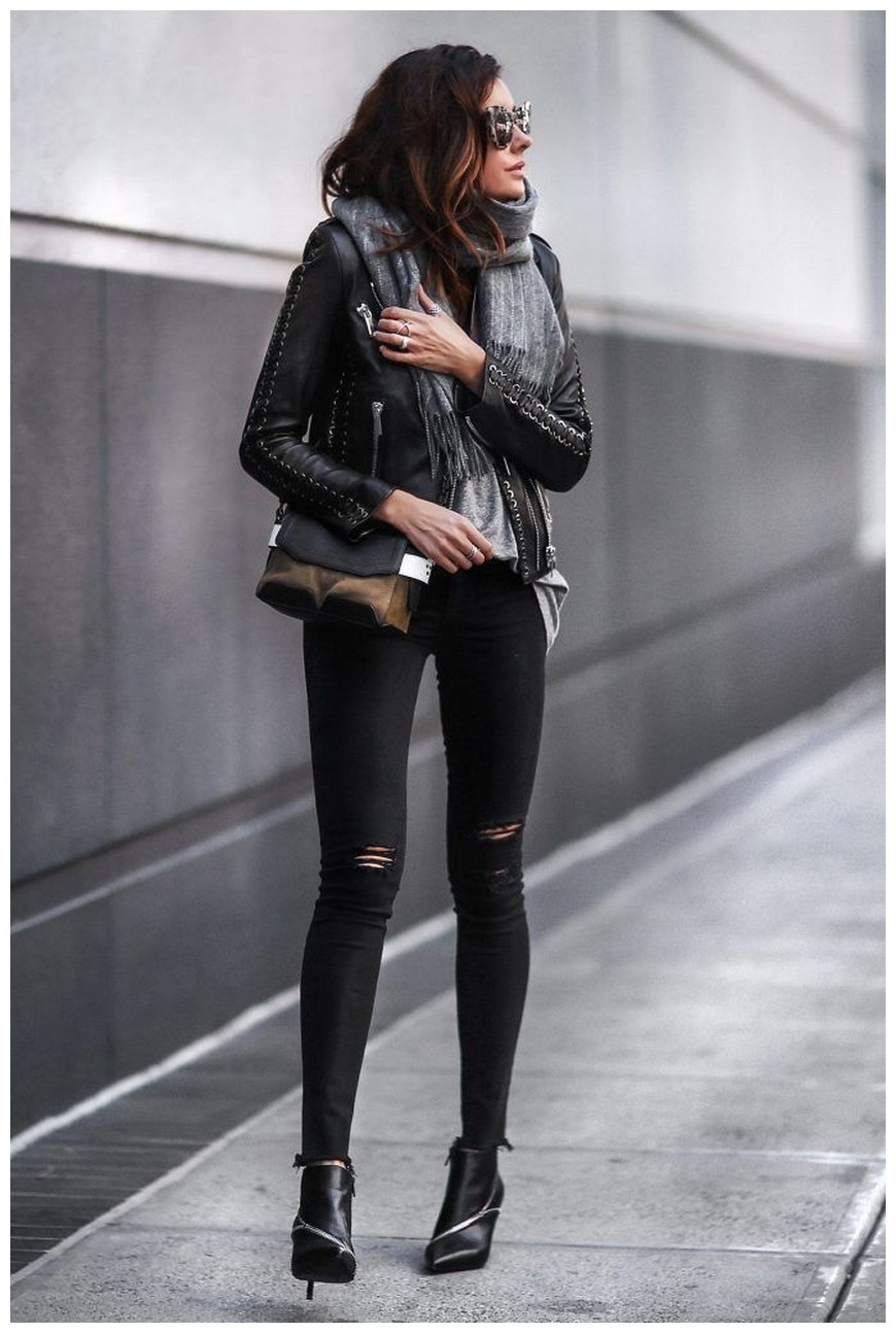 34+ rocker chic winter outfits you will love fashionplace info 19