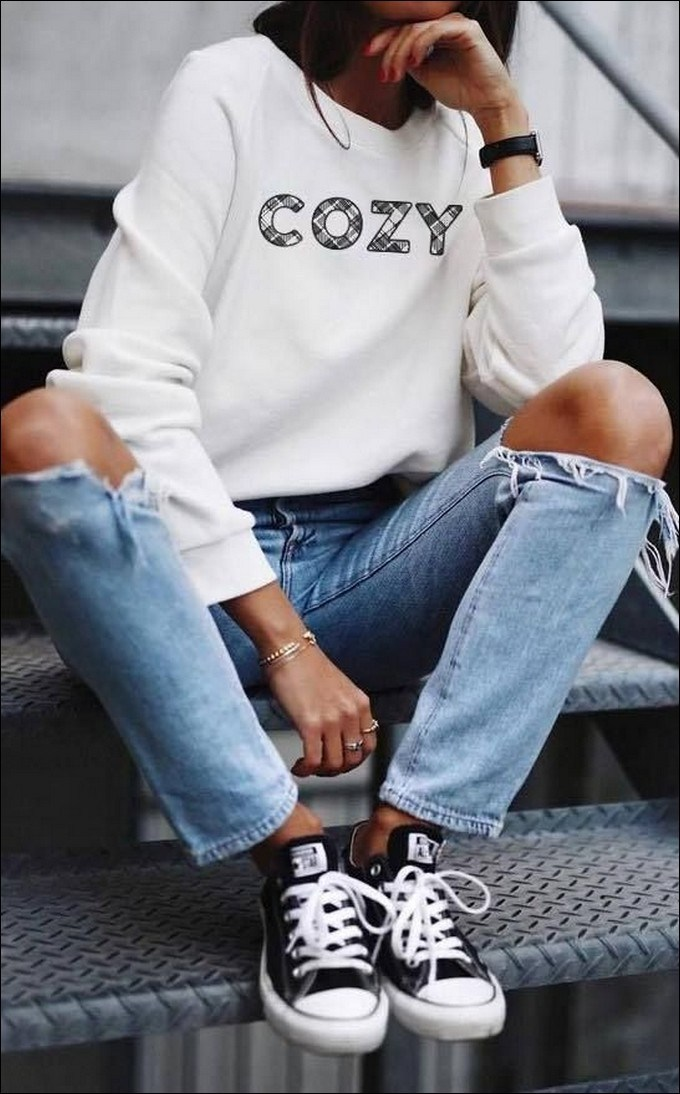 50+ checkered vans casual autumn outfit, winter outfit, style, outfit inspiration 29