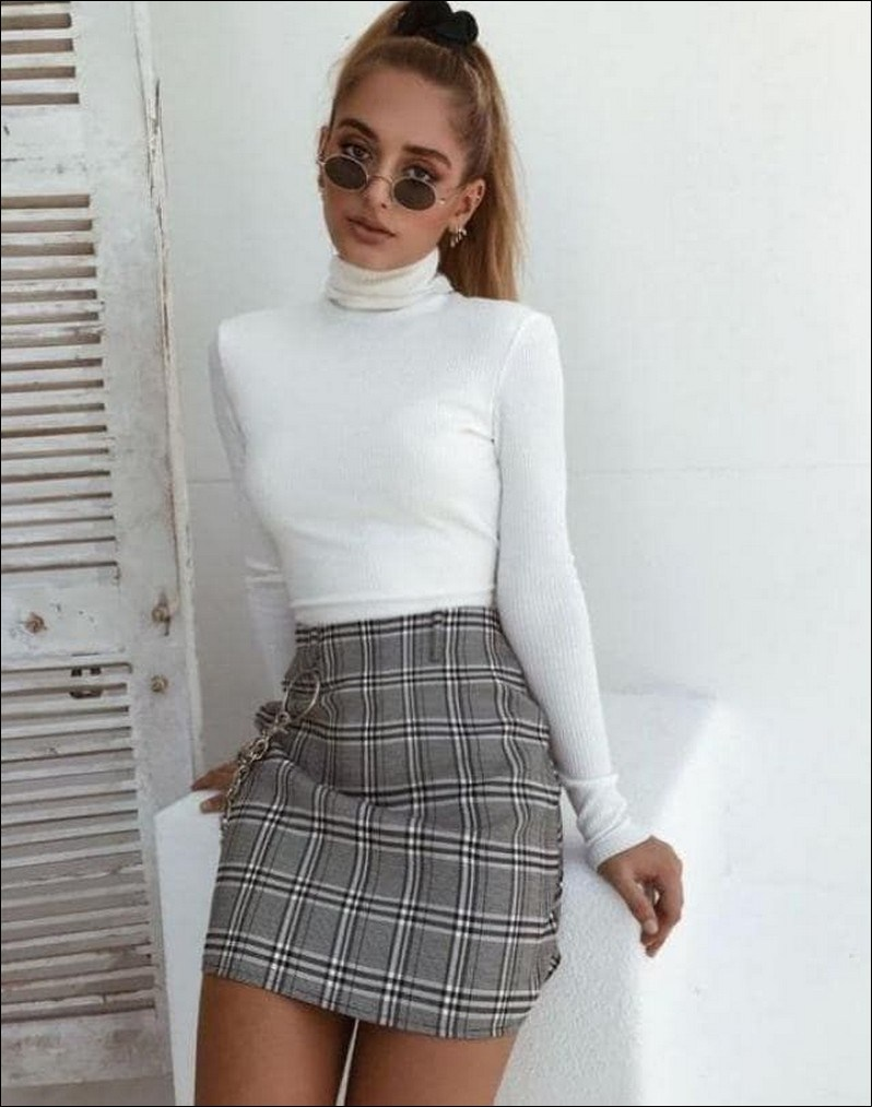 50+ checkered vans casual autumn outfit, winter outfit, style, outfit inspiration 21