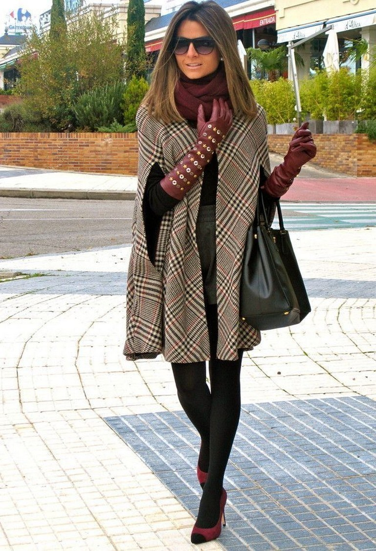 27+ trendy winter outfit with cape 29
