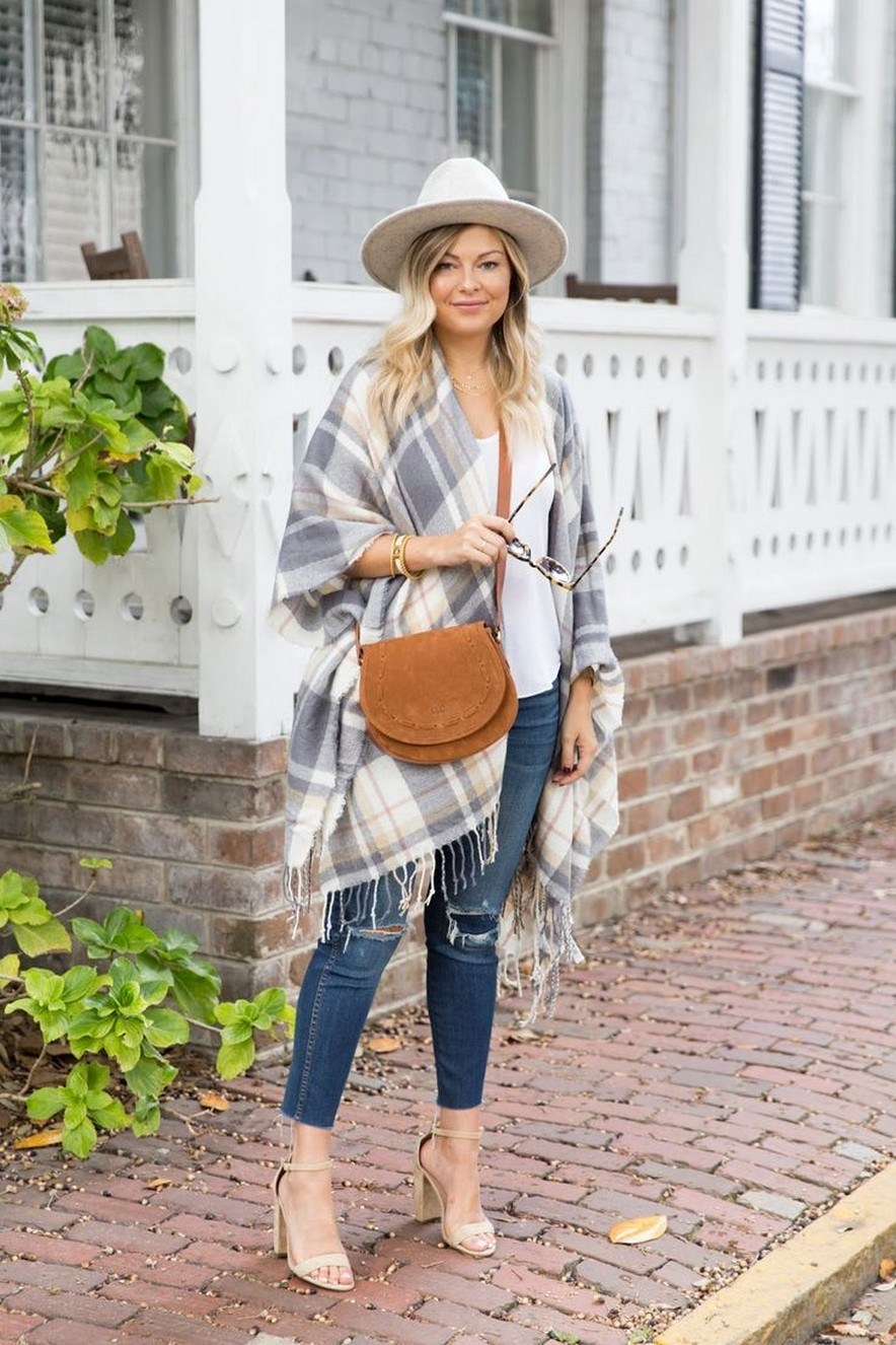 27+ trendy winter outfit with cape 3