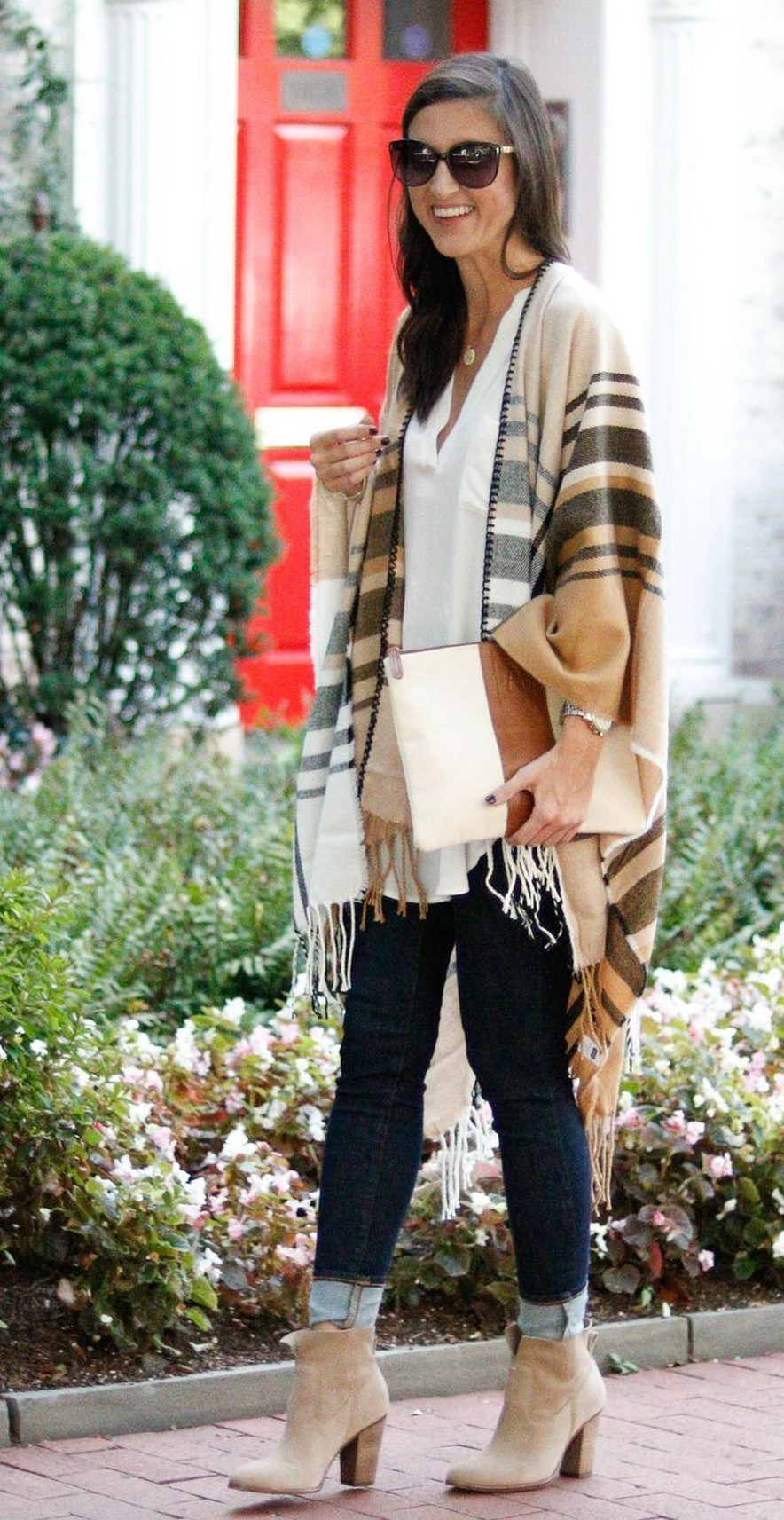 27+ trendy winter outfit with cape 30