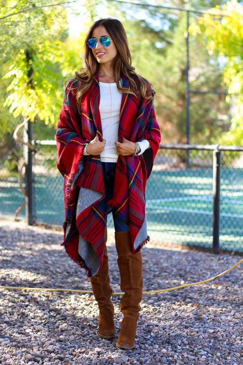 27+ trendy winter outfit with cape 15