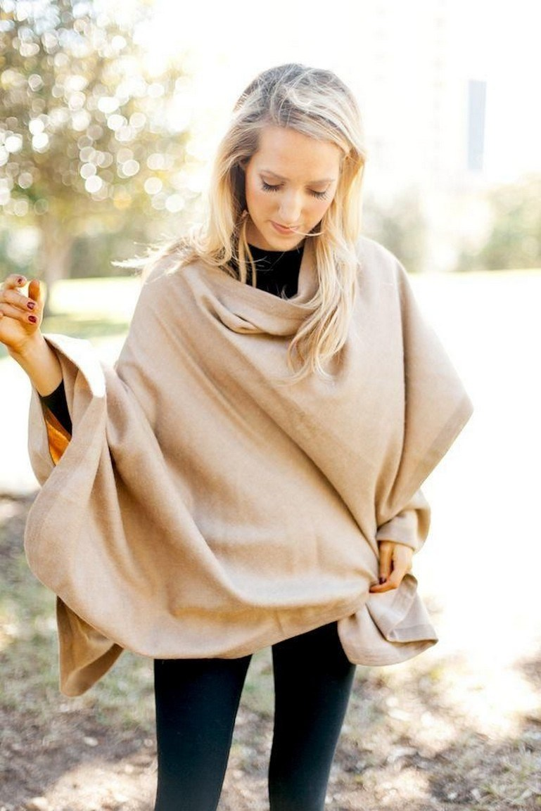 27+ trendy winter outfit with cape 17