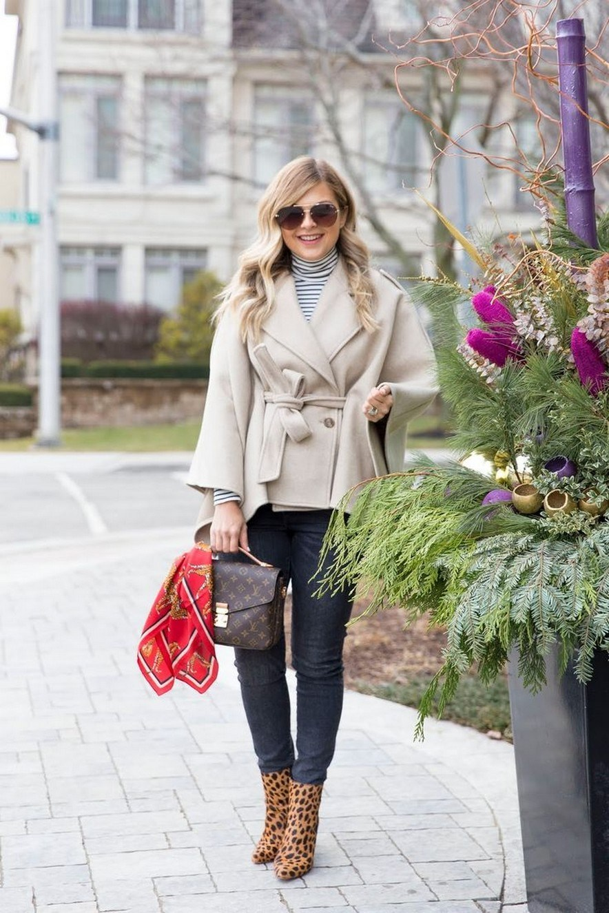 27+ trendy winter outfit with cape 23