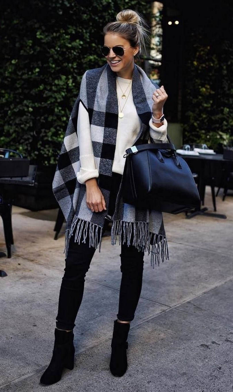 27+ trendy winter outfit with cape 11