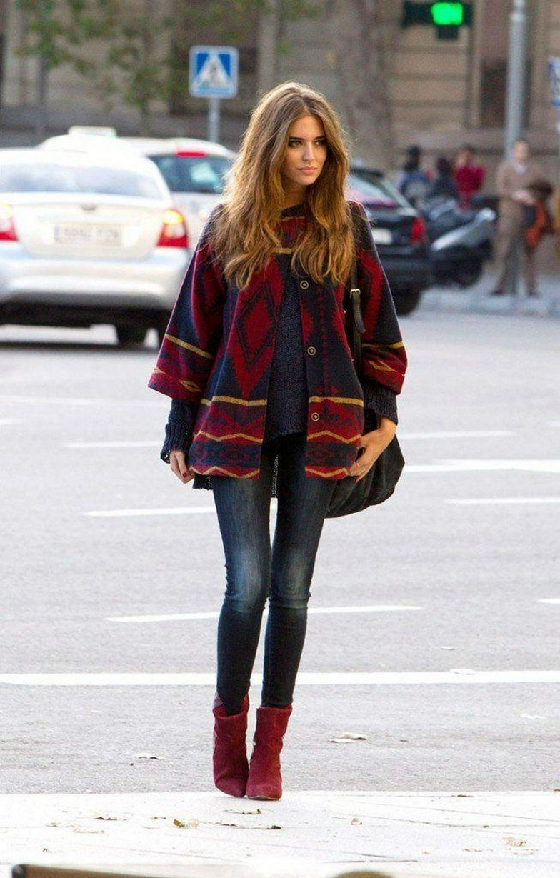 27+ trendy winter outfit with cape 8