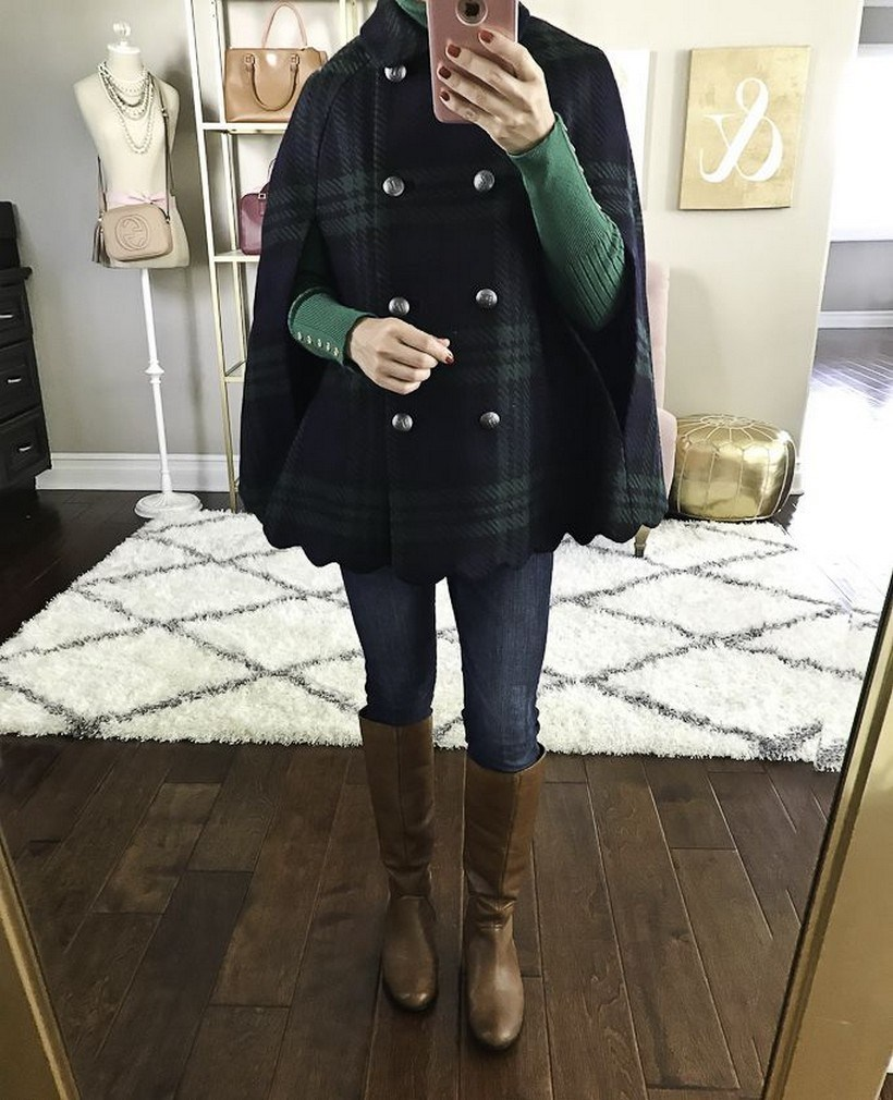 27+ trendy winter outfit with cape 27