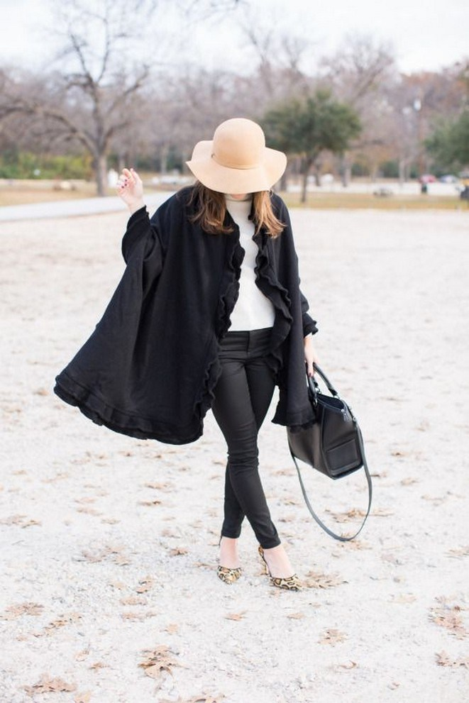 27+ trendy winter outfit with cape 18
