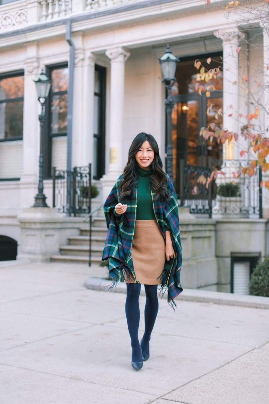 27+ trendy winter outfit with cape 25