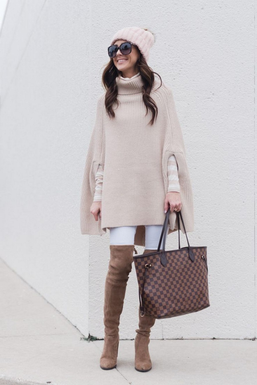 27+ trendy winter outfit with cape 19