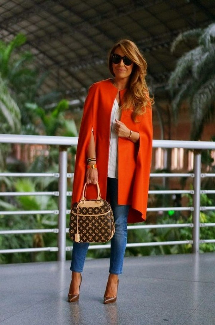 27+ trendy winter outfit with cape 4