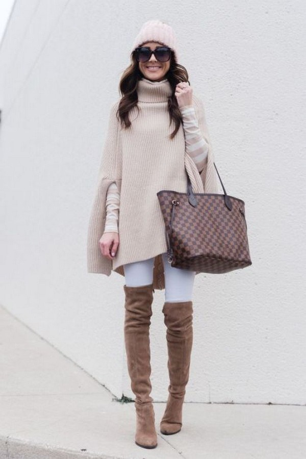 27+ trendy winter outfit with cape 7