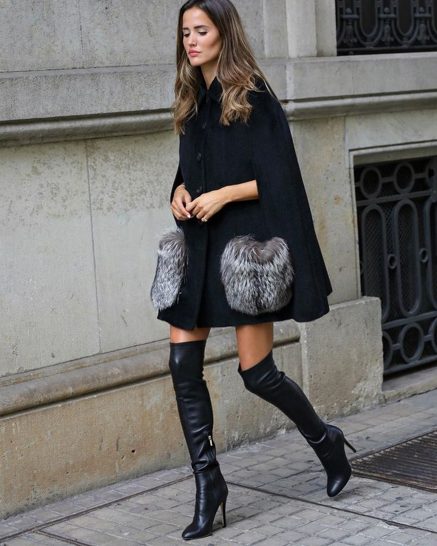 27+ trendy winter outfit with cape 13
